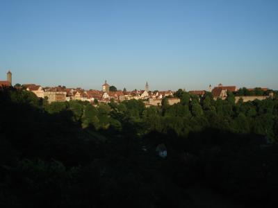 Rothenburg Near Sunset