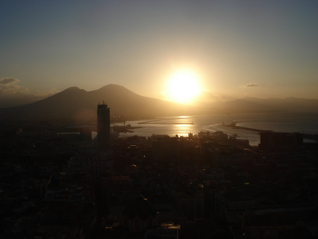 Mount Vesuvius Sunrise